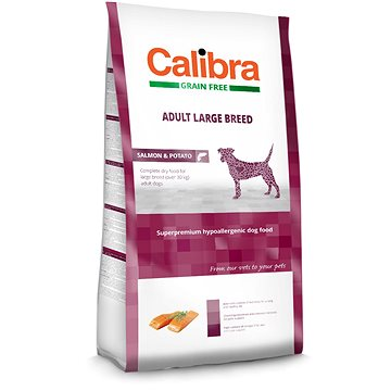 Calibra Dog GF Adult Large Breed Salmon 2 kg (8594062083153)