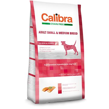 Calibra Dog GF Adult Medium & Small Salmon 2 kg (8594062082699)