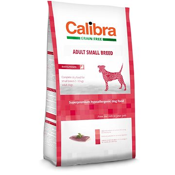 Calibra Dog GF Adult Small Breed Duck 7 kg (8594062083085)