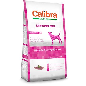 Calibra Dog GF Junior Small Breed Duck 7 kg (8594062082606)