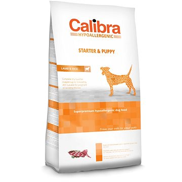 Calibra Dog HA Starter & Puppy Lamb 3 kg (8594062082569)