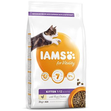 IAMS Cat Kitten Chicken 2 kg (8710255150062)