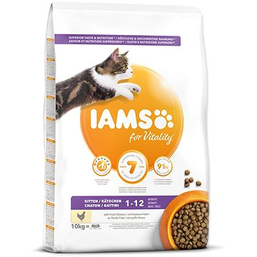 IAMS Cat Kitten Chicken 10 kg (8710255127736)