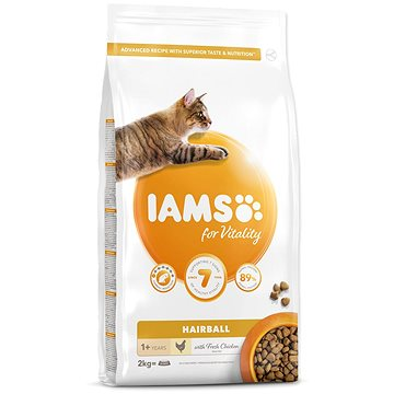 IAMS Cat Adult Hairball Chicken 2 kg (8710255150376)