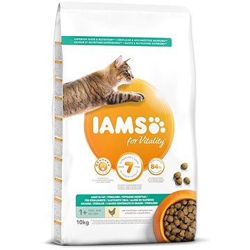IAMS Cat Adult Weight Control/Sterilized Chicken 10 kg (8710255127637)
