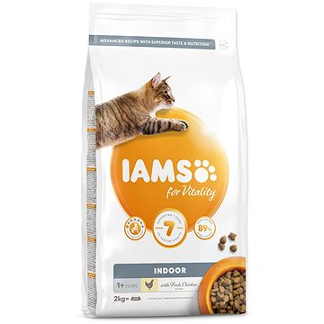 IAMS Cat Adult Indoor Chicken 2 kg (8710255150437)