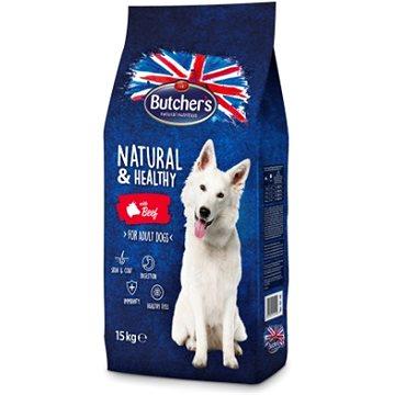 Butcher's granule pro psy Blue s hovězím masem 15 kg (5011792000296)