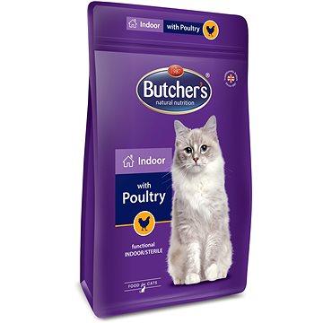 Butcher's Pro Series Indoor granule pro kočky s drůbežím 800 g (5011792003815)