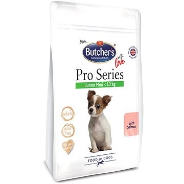 Butcher's Pro Series JUNIOR granule pro malá štěňata s lososem 800 g (5011792003785)
