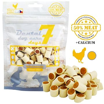 Dental DOG Care 7 days Fresh Meat - Sushi kuřecí 80 g (8595657301522)