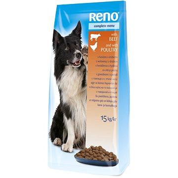 Reno kompletní krmivo pro dospělé psy 10 kg + 5 kg zdarma (8594014722437)