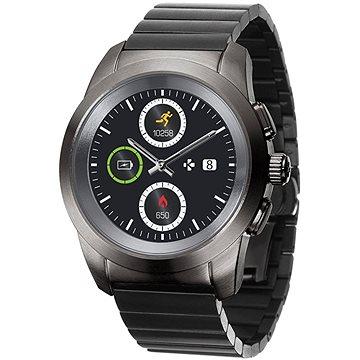 Chytré hodinky MyKronoz ZeTime Elite Black Metal - 39 mm (KRONOZ-TI-EL-B-39)