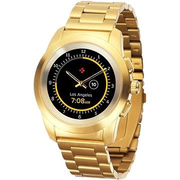 Chytré hodinky MyKronoz ZeTime Elite Yellow Gold Metal - 44 mm (KRONOZ-TI-EL-G-44)