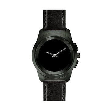 MyKronoz ZeTime Premium Black/Black Flat - 44 mm (KRONOZ-TI-PR-B/B-44)