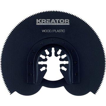 Kreator Segmentový řezný kotouč 90x1.4mm dřevo, plast (KRT990020)