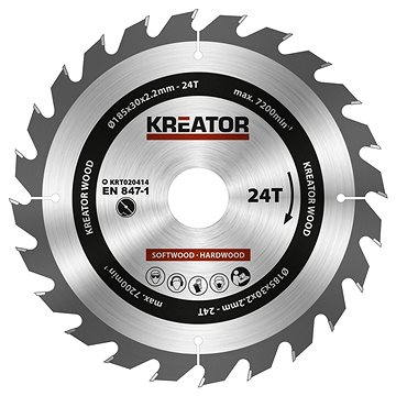 Kreator KRT020414, 185mm, 24T (KRT020414)