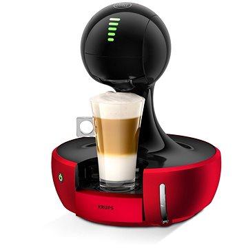 Krups Nescafé Dolce Gusto Drop Red KP3505 + ZDARMA Kávové kapsle Nescafé Dolce Gusto Cafe Au Lait 16ks Kávové kapsle Nescafé Dolce Gusto Cappuccino 16ks Kávové kapsle Nescafé Dolce Gusto Latte Macchiato 16ks Kávové kapsle Nescafé Dolce Gusto Espresso 16ks
