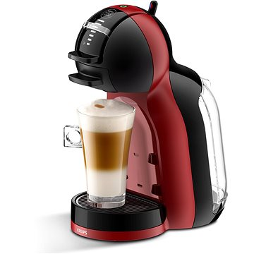 Krups Nescafé Dolce Gusto Mini Me Piano Black/Cherry Red KP120H31