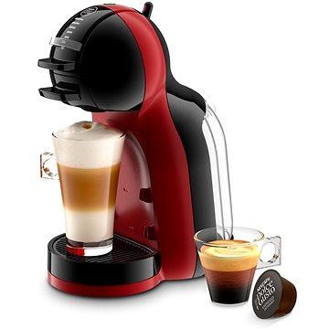 Krups KP120H31 Nescafé Dolce Gusto Mini Me černé/červené + ZDARMA Kávové kapsle Nescafé Dolce Gusto Latte Macchiatto LIGHT 16ks x 3