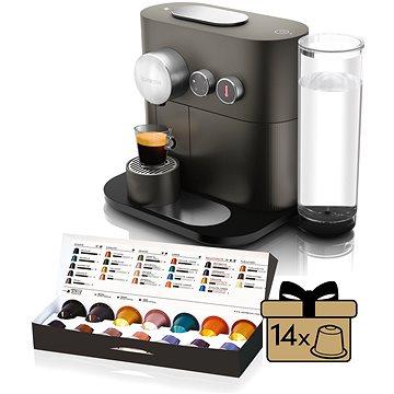NESPRESSO DéLonghi Expert EN350.G (EN350G) + ZDARMA Poukaz NESPRESSO Voucher na nákup kávy v hodnotě 2000Kč