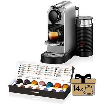 NESPRESSO Krups Citiz XN760B10 + ZDARMA Voucher Nespresso voucher na 80 kapslí Grand Cru kávy