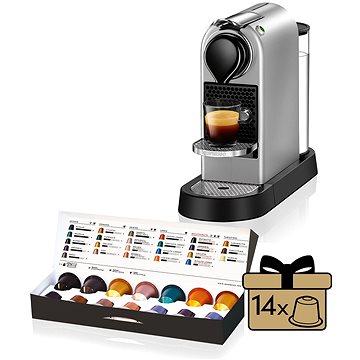 NESPRESSO Krups Citiz XN740B10 + ZDARMA Voucher Nespresso voucher na 80 kapslí Grand Cru kávy