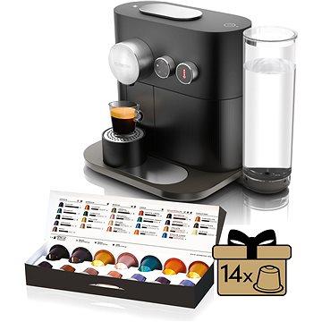 NESPRESSO Krups Expert XN600810 + ZDARMA Voucher Nespresso Voucher na šlehač mléka Aeroccino3 black