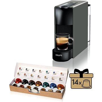 Nespresso Krups Essenza Mini XN110B (XN110B10) + ZDARMA Poukaz NESPRESSO Voucher na nákup kávy v hodnotě 800Kč