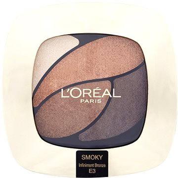 Oční stíny ĽORÉAL PARIS Color Riche Les Ombres E3 Infiniment Bronze 2,5 g (3600522203544)