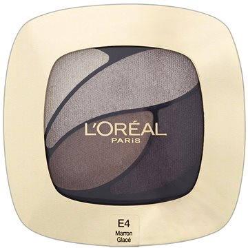 Oční stíny ĽORÉAL PARIS Color Riche Les Ombres E4 Marron Glacé 2,5 g (3600522203551)