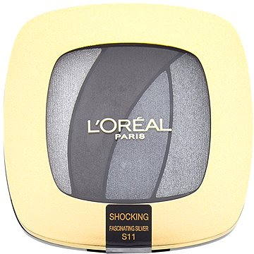 Oční stíny ĽORÉAL PARIS Color Riche Les Ombres Shocking S11 Fascinating Silver 2,5 g (3600523185832)