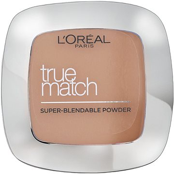 Kompaktní pudr ĽORÉAL PARIS True Match Powder W3 Golden Beige 9 g (3600520772035)