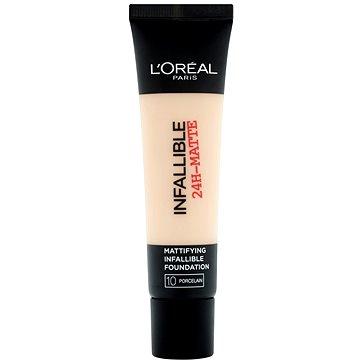Tekutý make-up ĽORÉAL PARIS Infallible 24h-Matte 10 Porcelain 35 ml (3600522875208)