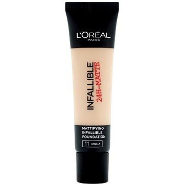 Tekutý make-up ĽORÉAL PARIS Infallible 24h-Matte 11 Vanilla 35 ml (3600522875321)