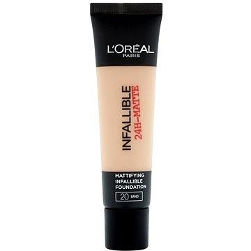 ĽORÉAL PARIS Infaillible 24H-Matte Mattifying Longwear Foundation 20 Sand 35 ml (3600522875369)