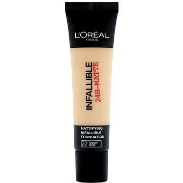 Tekutý make-up ĽORÉAL PARIS Infallible 24h-Matte 22 Radiant Beige 35 ml (3600522875383)