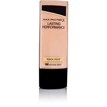 Tekutý make-up MAX FACTOR Lasting Performance 106 Natural Beige 35 ml (50683338)