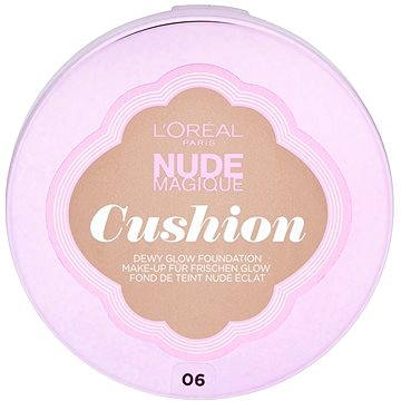 Tekutý make-up LORÉAL Nude Magique Cushion 06 Rose Beige 14,6g (3600523161553)