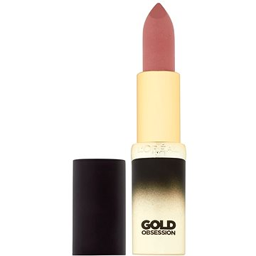 Rtěnka ĽORÉAL PARIS Color Riche Gold Obsession 37 Pink (3600523309337)