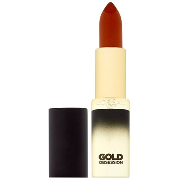 Rtěnka ĽORÉAL PARIS Color Riche Gold Obsession 40 Rouge (3600523309368)