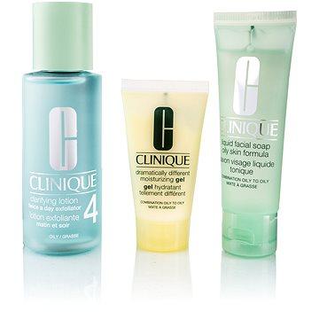 Sada výrobků pro čištění pleti CLINIQUE 3 Step Skin Care Typ 4 - mastná pleť (020714464080)