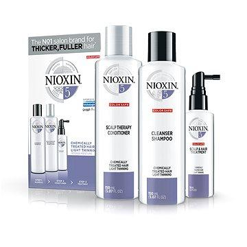 Nioxin System 5 Cleanser Shampoo 150 ml System 5 Cleanser Shampoo 150 ml System 5 Scalp Revitaliser Conditioner 50 ml System 5 Scalp Treatment Pro jemné a chemicky neošetřené vlasy dárková sada