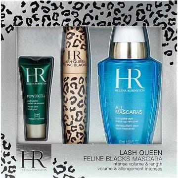 Luxusní set výrobků na oči HELENA RUBINSTEIN Lash Queen Mascara Feline Blacks Gift Set