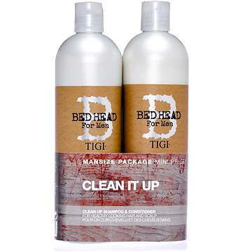 Sada vlasové kosmetiky TIGI B For Men Clean Up Tweens 1,5 l (615908961744)