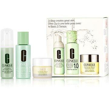 Dárková sada kosmetická CLINIQUE 3 Step Intro System Extra Gentle (20714820176)