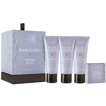 Dárková sada kosmetická SCOTTISH FINE SOAPS Willow & Bluebell Luxurious Set (5016365017220) + ZDARMA Mýdlo SCOTTISH FINE SOAPS Mýdlo - Au Lait 25 g