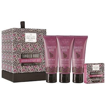 Dárková sada kosmetická SCOTTISH FINE SOAPS Tanged Rose Luxurious Set (5016365017626) + ZDARMA Mýdlo SCOTTISH FINE SOAPS Mýdlo - Au Lait 25 g