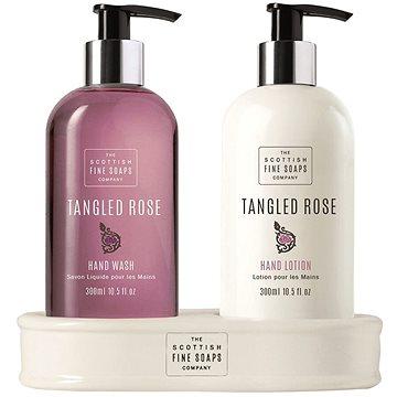 Dárková sada kosmetická SCOTTISH FINE SOAPS Tanged Rose Hand Care Set (5016365017633) + ZDARMA Mýdlo SCOTTISH FINE SOAPS Mýdlo - Au Lait 25 g
