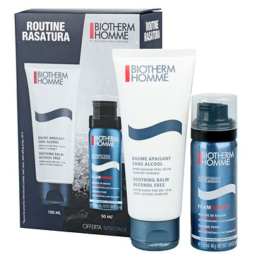 Dárková sada kosmetická BIOTHERM Homme Soothing Balm Gift Set (8024417954871)
