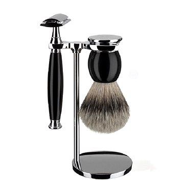 Dárková sada MÜHLE Sophist Black Silvertip Badger (4028982004003)